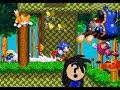 Nobody Vs Sonic 3 And Knuckles Complete! (Rom Hack) (*NOT*) Mushroom Hill