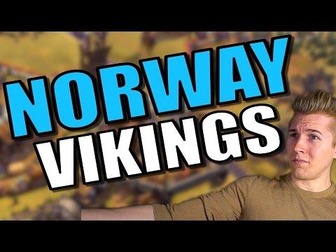 Civ 6: Norway Gameplay / Let's Play [Civilization 6 Scenario] Civ 6 Viking Strategy - Part 10 |