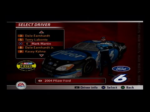 NASCAR 2005 - Mark Martin @ New Hampshire