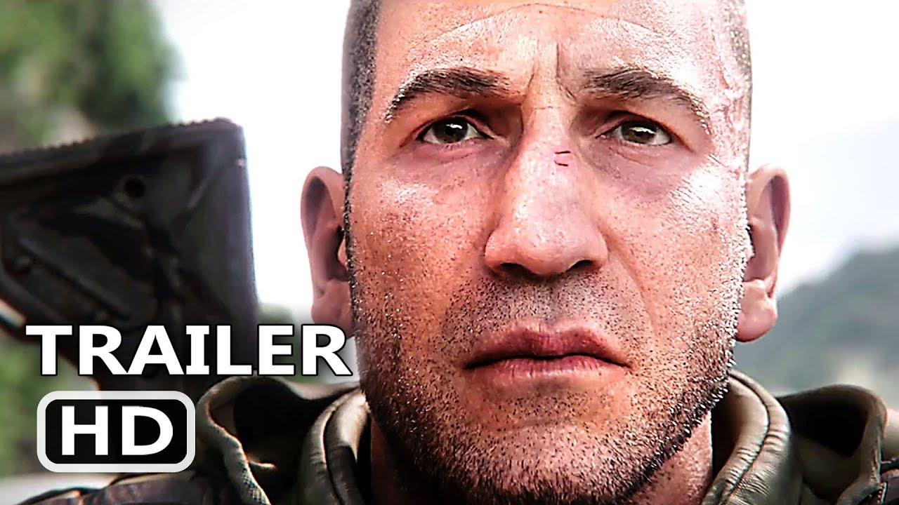 Ghost Recon Breakpoint Official Trailer 2019 Jon Bernthal Action