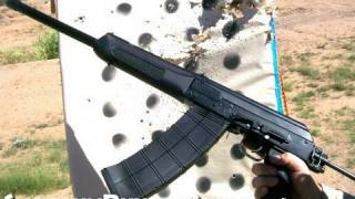 Shooting an AK47 Shotgun