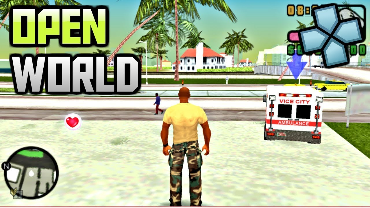 Download Top 10 Best Open World Games for PSP | PPSSPP Emulator