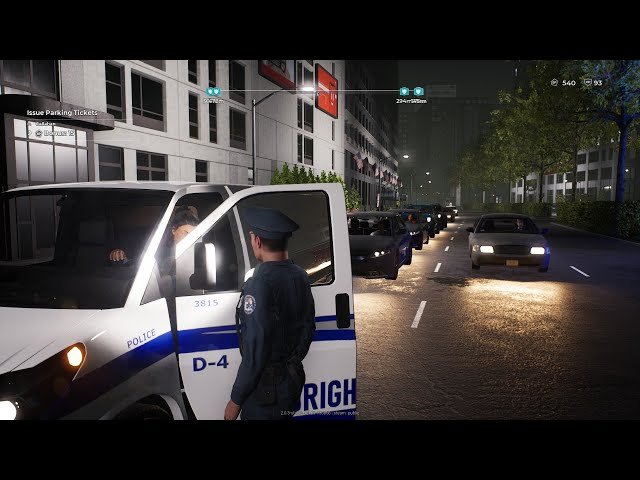One ticket - two tickets - three tickets - jail! Police Simulator : patrol Officers Beta