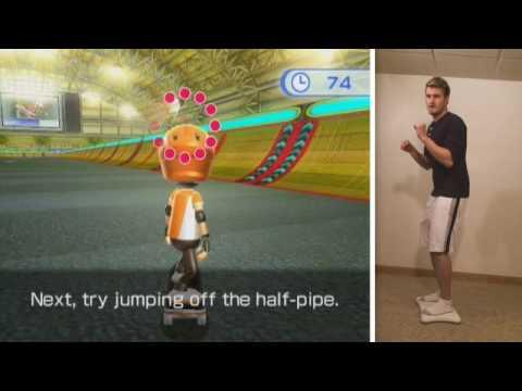 Gameplay - Wii Fit Plus (Skateboarding)