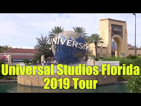 Universal Studios Florida 2019 Tour And Overview | Universal Orlando Resort Florida