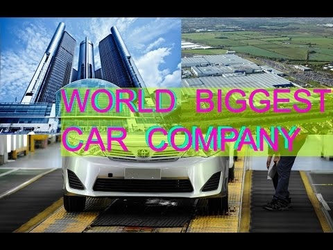 top 5 car biggest company in the world