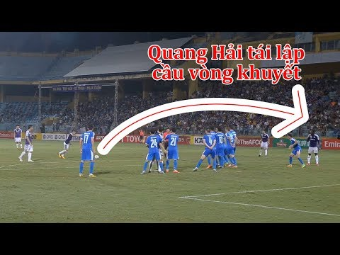 Quang Hải lập siêu phẩm đá phạt tại Bán kết AFC CUP 2019 l Ted Trần TV