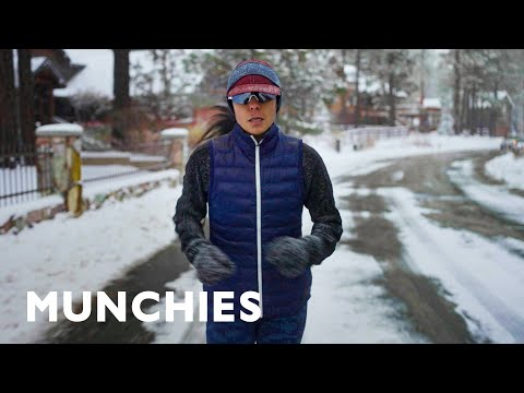 What an Olympic Runner Eats for High Altitude Training
