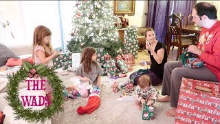 Opening Presents & Their Big Surprise on Christmas Morning!