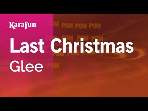 Karaoke Last Christmas - Glee *