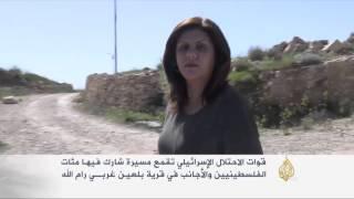 الاحتلال يقمع مسيرة في قرية بلعين