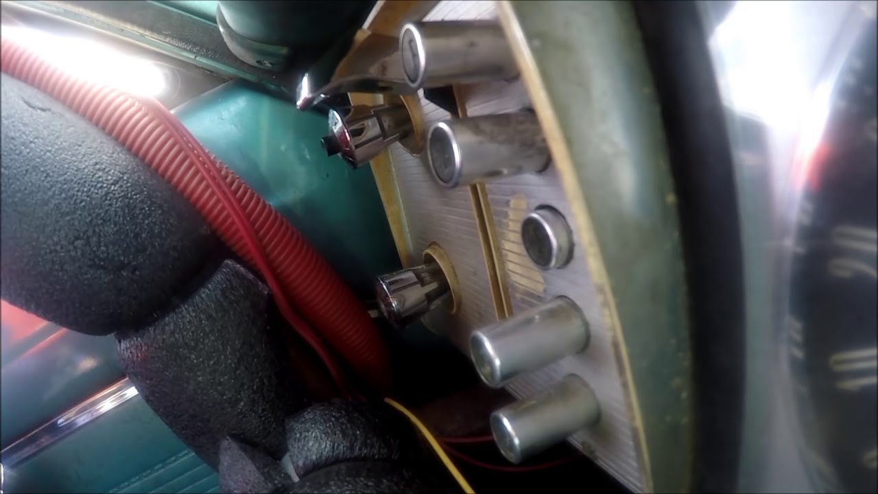 medium resolution of pushbutton shifter action in a road racing 1964 dodge dart