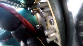 Pushbutton Shifter Action In a Road-Racing 1964 Dodge Dart