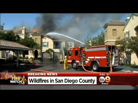 Carlsbad Brush Fire Damages Several Homes, Forces Thousands Of Evacuations