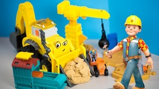 Bob the Builder RC Super Scoop Toy Truck | Mash & Mold Construction Site Toys Kinder Playtime