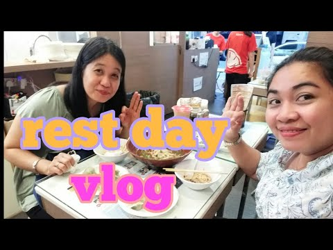 Rest day ng ofw hongkong/daily vlog#3