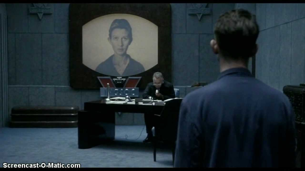 telescreen symbol in 1984 05062016  the telescreen was purportedly interactive, but, as is explained to winston smith after he falls victim to it, it had eyes he and his lover, julia, are.
