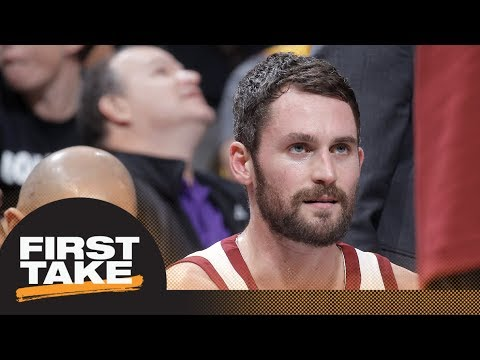 Stephen A. Smith says Cavaliers should trade Kevin Love | First Take | ESPN