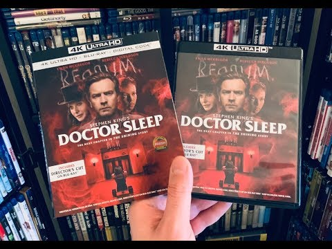 Doctor Sleep 4K BLU RAY REVIEW + Unboxing | The Shining