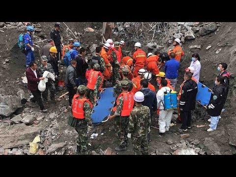 Sichuan landslide: Local authorities release identities of 118 missing people