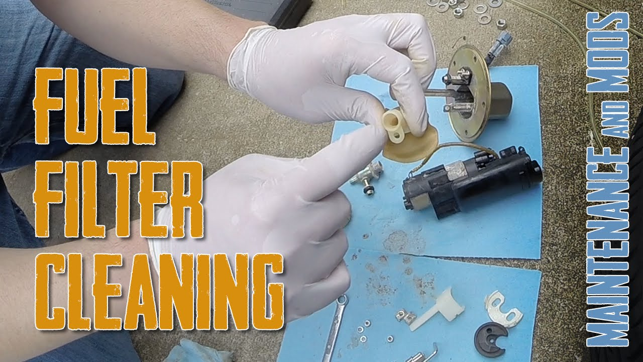 How To Clean Fuel Filter Pump