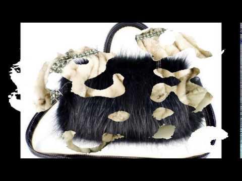 d69813a59b95 Сумки из меха, такие милые, забавные. Меховые сумки для деловой женщины -  YouTube