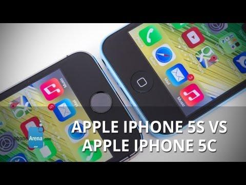 Apple iPhone 5s vs Apple iPhone 5c