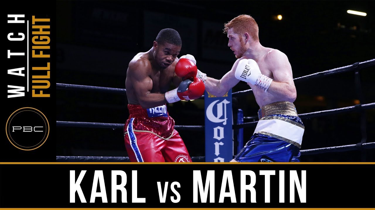 Karl vs Martin FULL FIGHT: November 17, 2017 - PBC on FS1