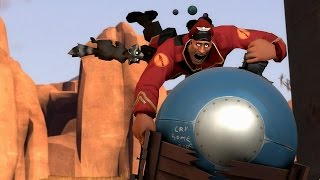 TF2: Badwater Basin, but the Cart Moves Ten Times Faster