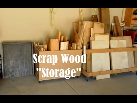 Scrap Wood Storage Box