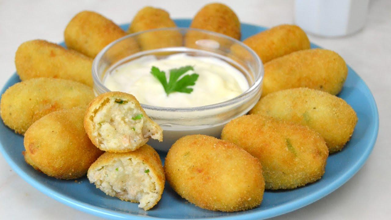 Croquetas De Atún Con Patata Faciles Y Deliciosas
