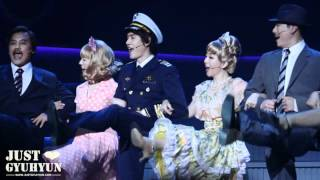 """[JustGyuhyun]120331 Musical """"Catch me if you can"""" (8PM) - Curtain call"""