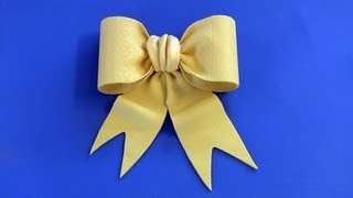 Fondant Bow Tutorial -- Bow Tie Style