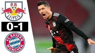 Бавария РБ Лейпциг 1 0 Обзор Матча Чемпионата Германии 03 04 2021 HD