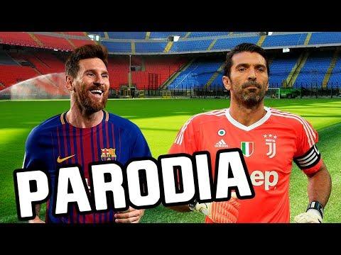 Baixar Canción Barcelona vs Juventus 3-0 (Parodia Nacho, Yandel, Bad Bunny - Báilame (Remix))