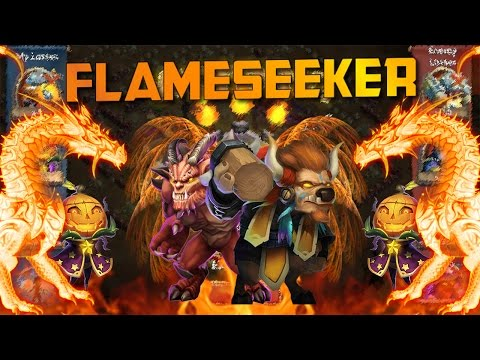 Castle Clash Destroyer Flameseeker!