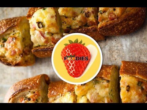 Foodies - Cheese Breakfast Bread Boat