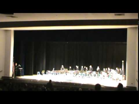 Eastmont Middle School Percussion Ensemble Fall 2015