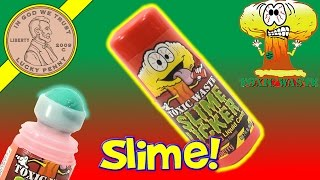 Slime Licker Sour Liquid Roller Candy - Deodorant!