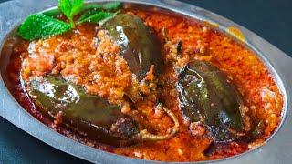 Dhaba Style - Baingan Masala  Brinjal Masala  I Egg Plant Curry  Recipes by MasalaWali