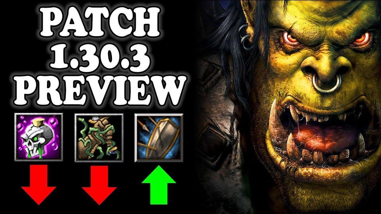 Warcraft 3 patch 1 30