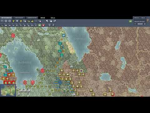 Let's Play Gary Grigsby's War in the East - Part 73 - Turn 26 Rivers and ice |