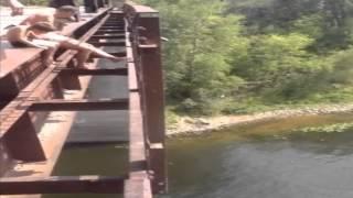 Прыжки с соковского  моста 2014