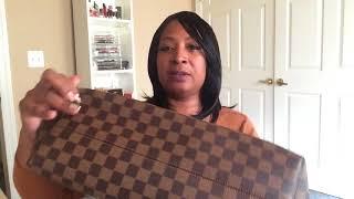 Louis Vuitton New Graceful MM Damier Ebene Unboxing 2017