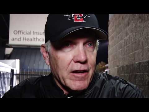 SDSU FOOTBALL: ROCKY LONG, RYAN AGNEW & RON SMITH POSTGAME vs. NEVADA