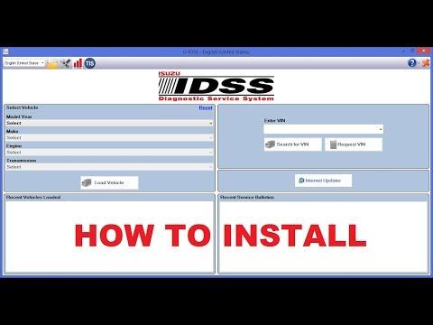 How to install ISUZU G-IDSS II + Update [05.2017]