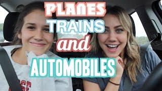 Planes, Trains, & Automobiles | Vlog #1