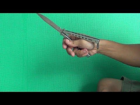 [Balisong Tutorial #1 –  Butterfly knife] Opening / Closing. Hướng dẫn kỹ thuật biểu diễn dao bướm