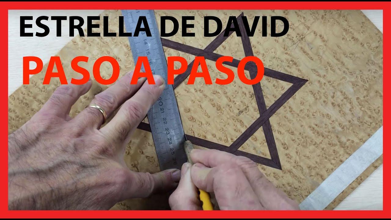 Estrella de David en Marquetería. En Madera Paso a Paso.