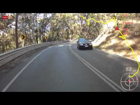 GSXR 600 K7 Mt Tamborine Queensland with Dashware
